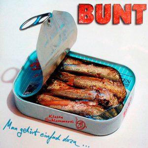 Cover der CD Man gehört einfach dazu der Band BUNT des Songwriters Ulrich Zehfuß